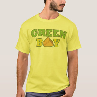Green Bay T-Shirt-Yellow T-Shirt