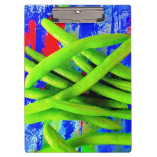 Green Bean Clipboard