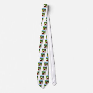 Green Bean Counter Tie