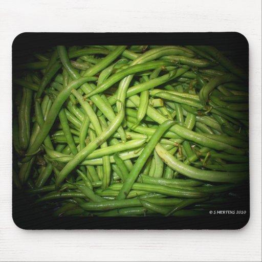 Green Beans in Spotlight Mousepad