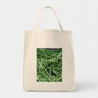 Green Beans Grocery Tote Bag