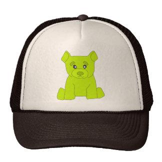 Green Bear Hat