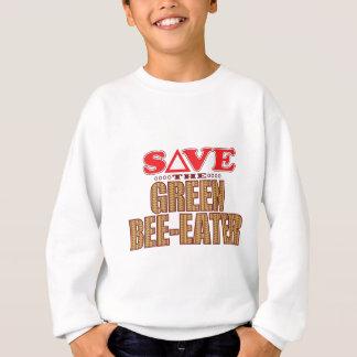 Green Bee-Eater Save Sweatshirt