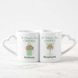 Green Beer and Martini St Patricks Day Lovers Mug