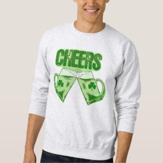 Green Beer Cheers Sweatshirt