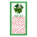 Green Beer For a Buck With Shamrock Photo Cards