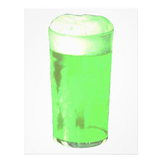 Green Beer Glass 21.5 Cm X 28 Cm Flyer