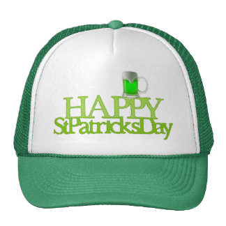 Green Beer Happy St.Patrick's Day Cap