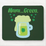 Green Beer Mouse Mat