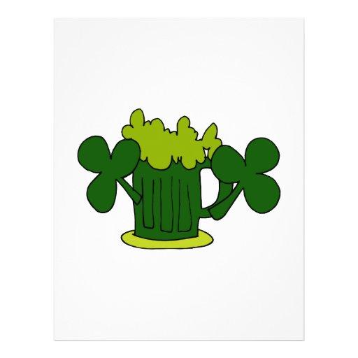 green beer mug clovers image.png flyer design