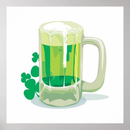 Green Beer Please! Posters