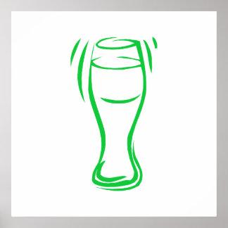 Green Beer Print