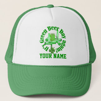 Green Beer St Patrick's day Trucker Hat
