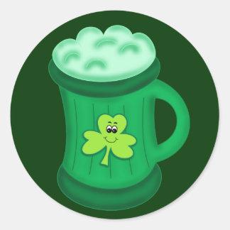 Green Beer sticker