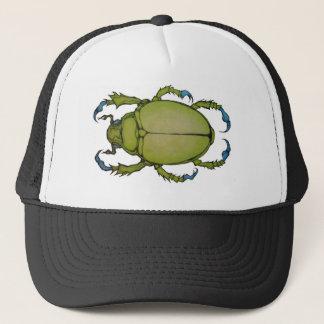 green beetle trucker hat