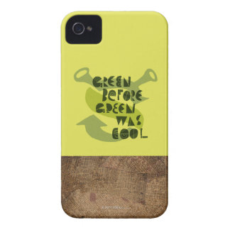 Green Before Green Was Cool iPhone 4 Case