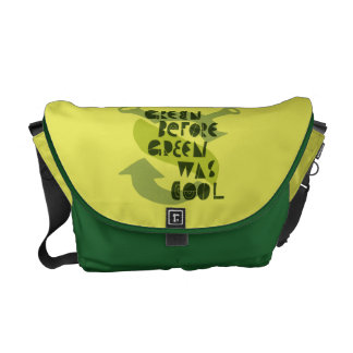 Green Before Green Was Cool Messenger Bag