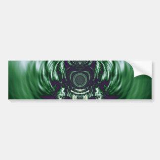 Green Bell Bumper Sticker