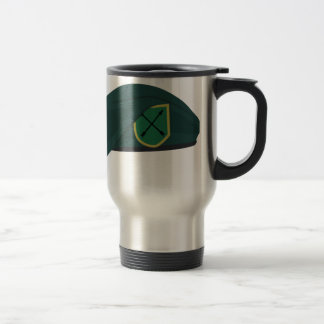 Green Beret Stainless Steel Travel Mug