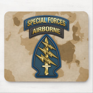Green Berets SSI Special Edition Mouse Mat