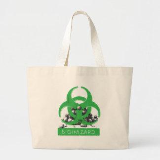 Green Bio Hazard and Skull Pile Bags