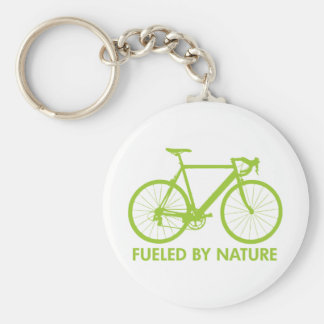 Green Biofuel Bike Keychain