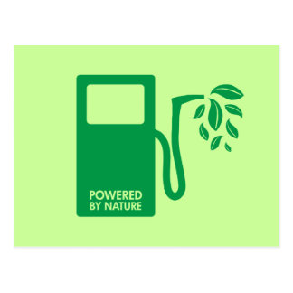 Green Biofuel Ethanol Postcard