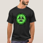 Green Biohazard Symbol T-Shirt