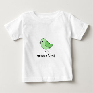 Green Bird Baby T-Shirt