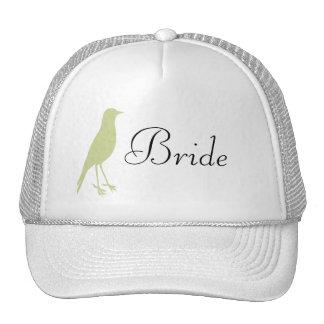 Green Bird Cap