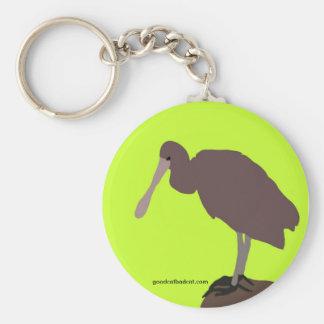 Green Bird Keychain