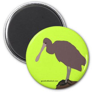 Green Bird Magnet