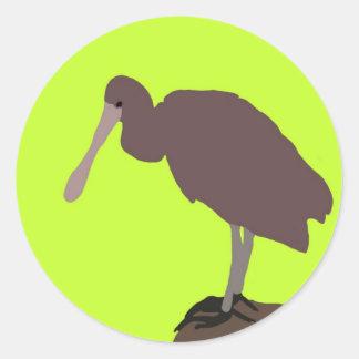 Green Bird Sticker