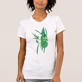 Green Bird Tee Shirt
