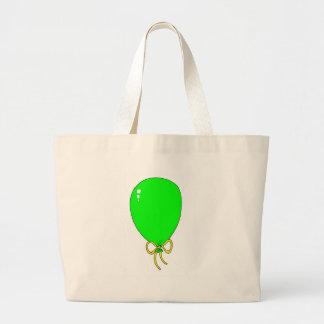 Green Birthday Balloon Design Bags