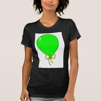 Green Birthday Balloon Design T-shirts