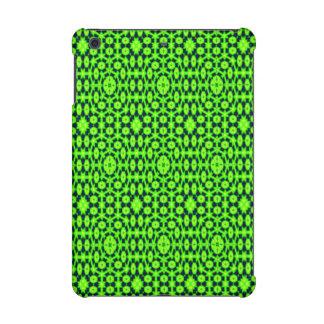 Green black abstract pattern iPad mini retina case