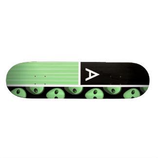 Green Black Alien Skate Deck