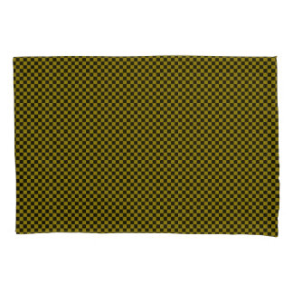 Green/Black Checkered Pair of Standard Pillowcase