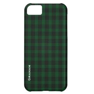 Green & Black Graham Clan Plaid iPhone 5 Case