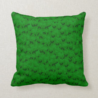 Green Black Shower Decorative Soft Pillow