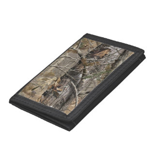 Green/Black Tree Camo Wallet