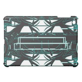 Green/Black/White iPad Case
