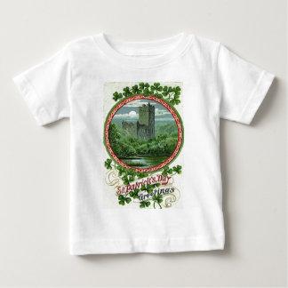 Green Blarney Castle Ireland Shamrock Tee Shirt