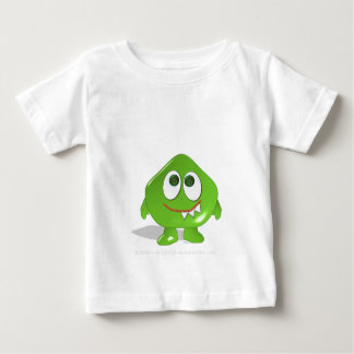 Green Blob Monster Baby T-Shirt