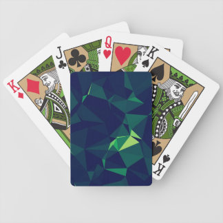 Green Block Playing Cards