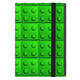 Green blocks pattern case for iPad mini
