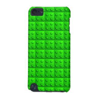 Green blocks pattern iPod touch (5th generation) case