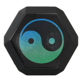 Green Blue and Black Yin Yang Boombot REX Speaker
