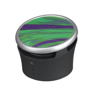 Green Blue Color Swish Bluetooth Speaker